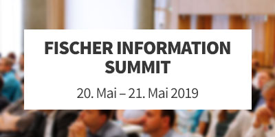 Fischer Information Summit 2019
