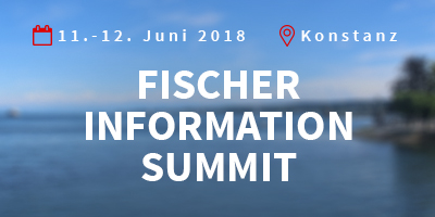 TIM User Conference is now FISCHER INFORMATION SUMMIT. We cover the entire spectrum, from editing with the content management system TIM to state-of-the-art product communication.