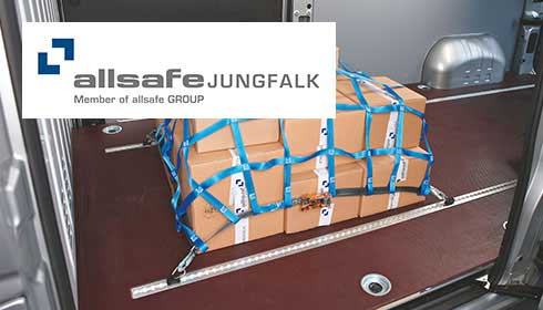 allsafe uses the Produkt­informations­management TIM connect