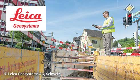 TIM makes mobile documentation possible at Leica Geosystems